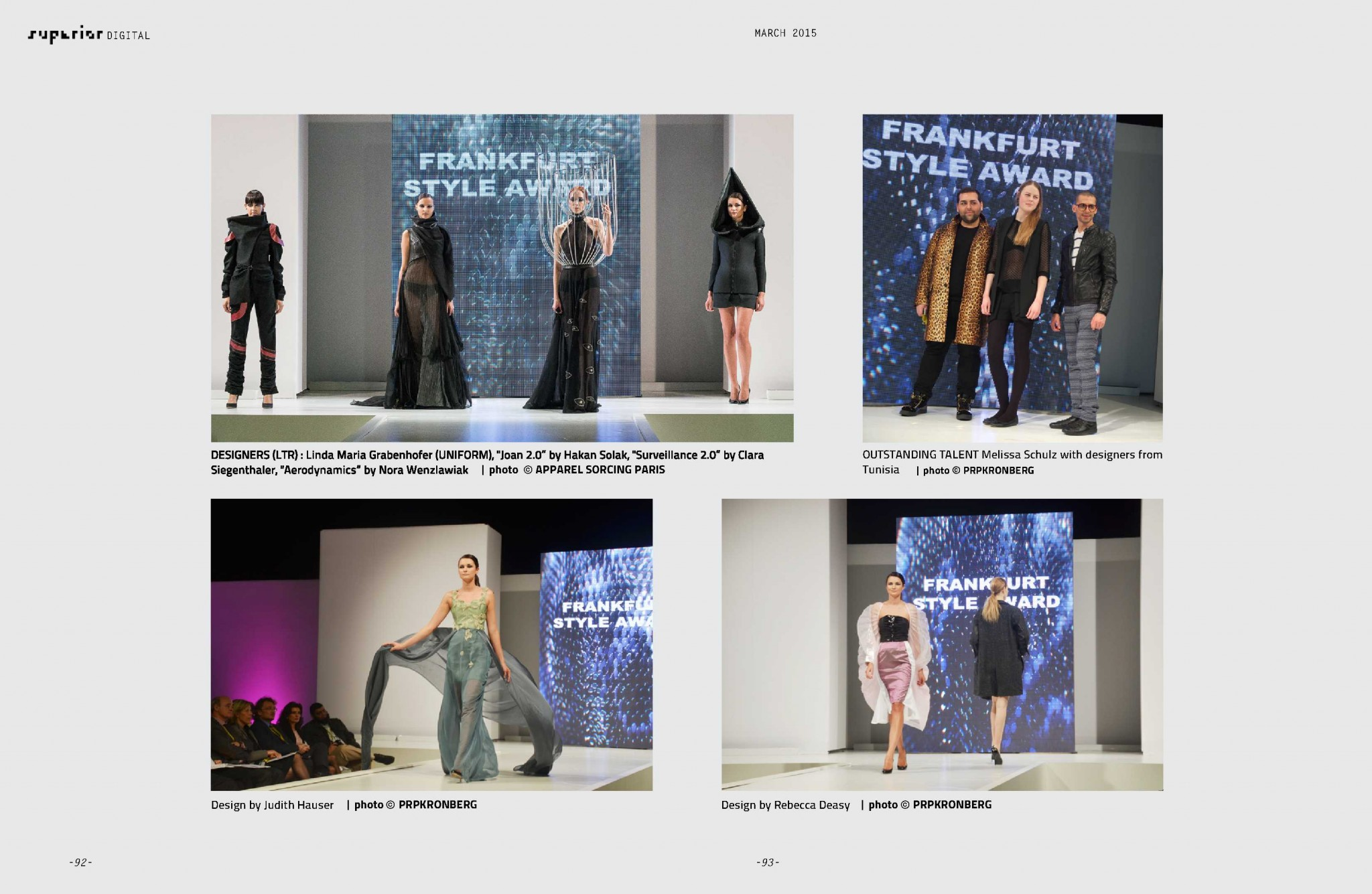 SUPERIOR DIGITAL March 2015 - Frankfurt Style Award_2
