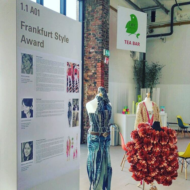 Good morning Berlin! Three of last year's finalists have been chosen by the @greenshowroom to present themselves and their designs at the eco-conscious fair! If you are in Berlin, come see us at stand 1.1 A01! #greenshowroom #fashiondesign #ecologicalgreen #pioneeringdestinycollection #talentcontest #designs #berlin #mbfwb