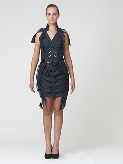 "1. Platz | Kategorie BLUE REVOLUTION: ""Denim Couture"" von Simo Marom."