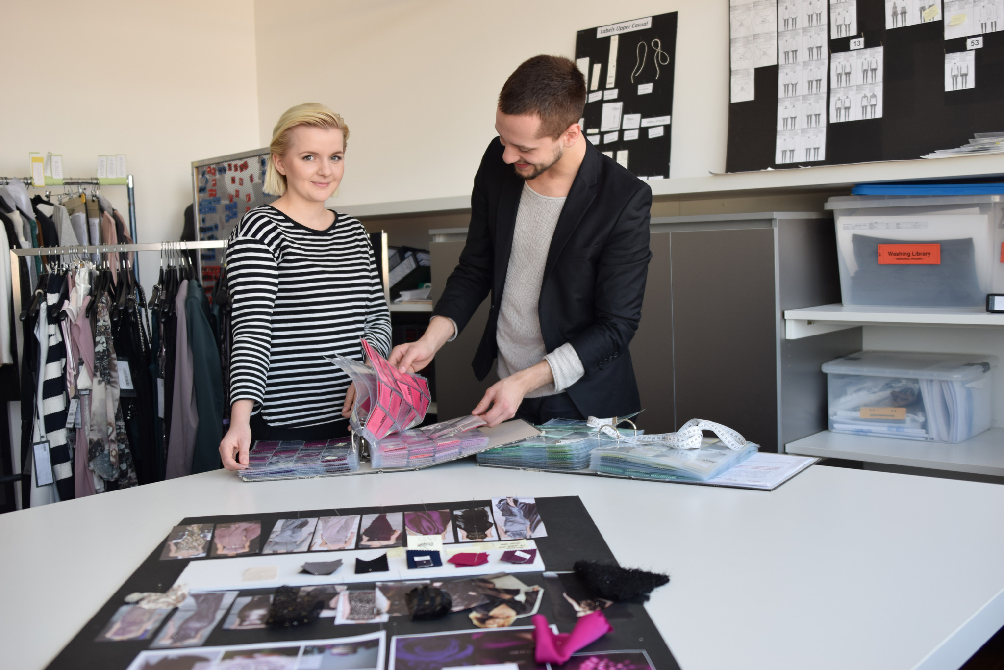Beim s oliver praktikum mittendrin im fashion business for Praktikum design frankfurt