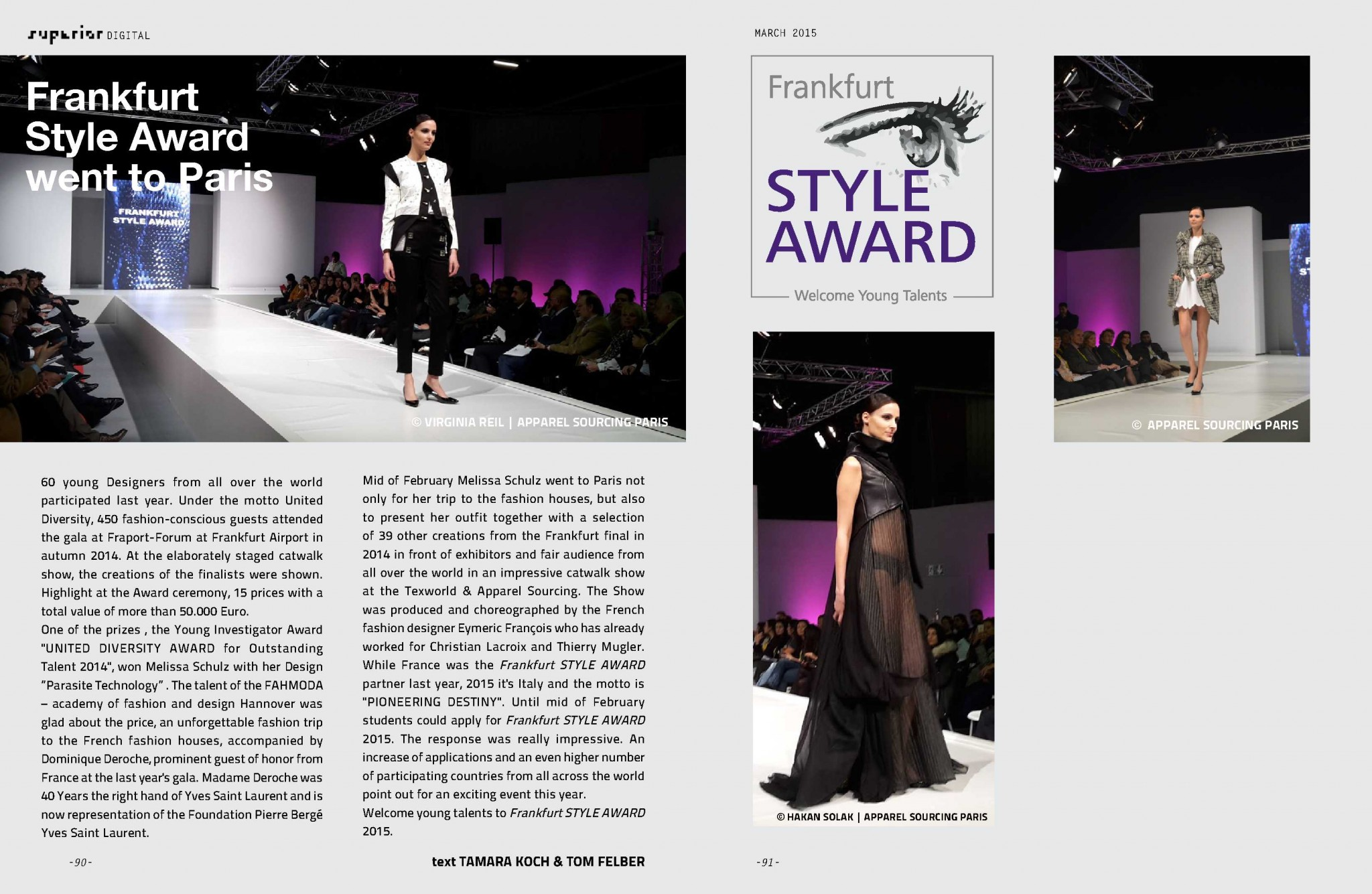 SUPERIOR DIGITAL March 2015 - Frankfurt Style Award_1
