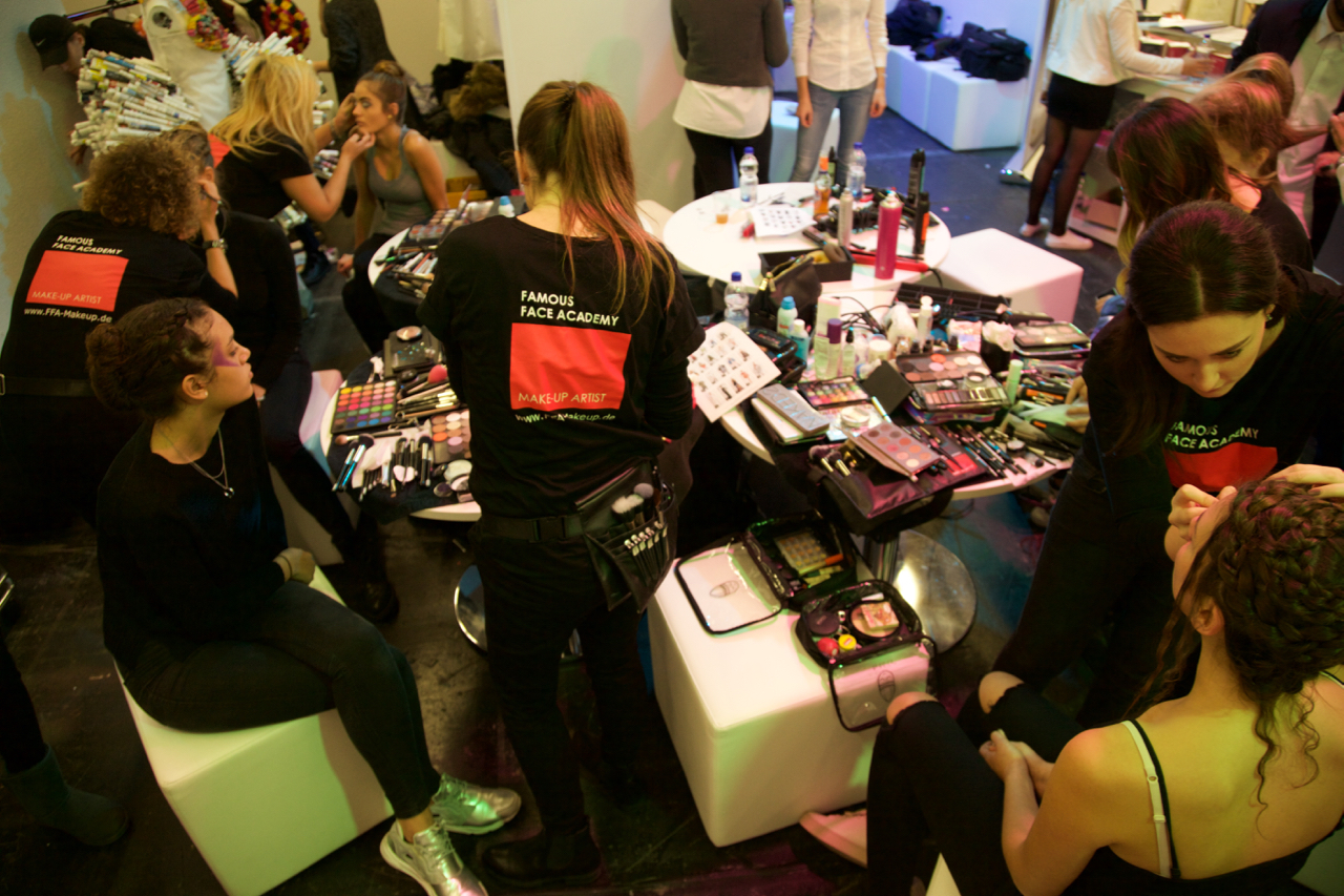 Make-Up Artists der Famous Face Academy