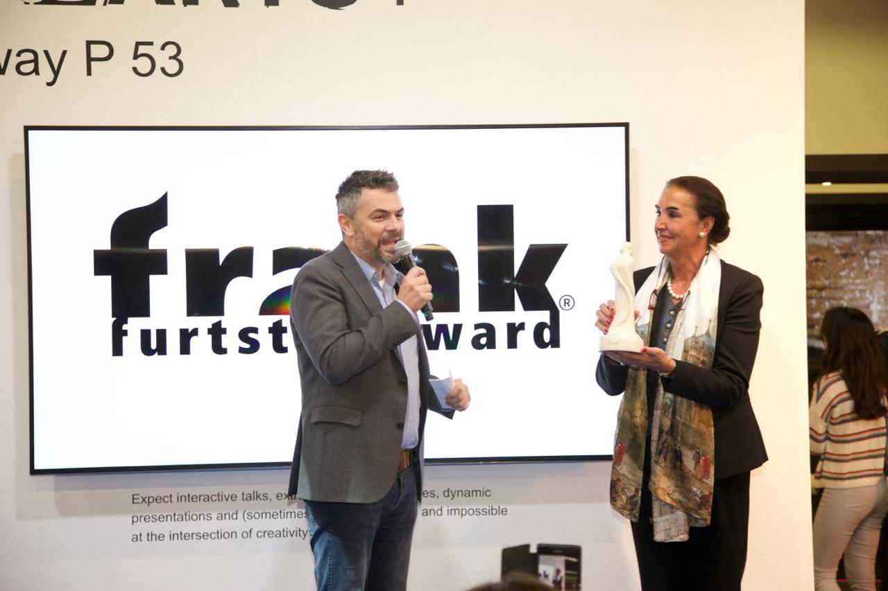 Hannemie Stitz-Krämer und Holger Volland, Mitbegründer von THE ARTS+