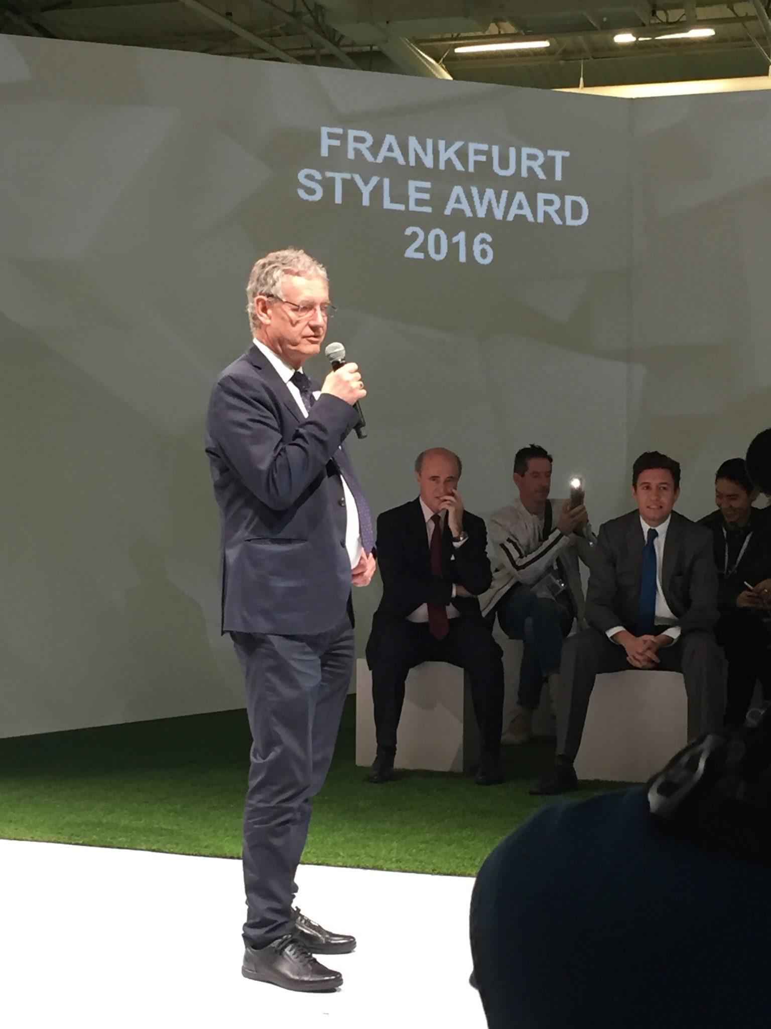 Michael Scherpe, Präsident der Messe Frankfurt France S.A.S, auf der Apparel Sourcing Paris