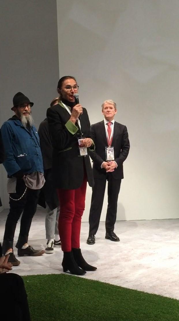 Hannemie Stitz-Krämer auf der Apparel Sourcing Paris
