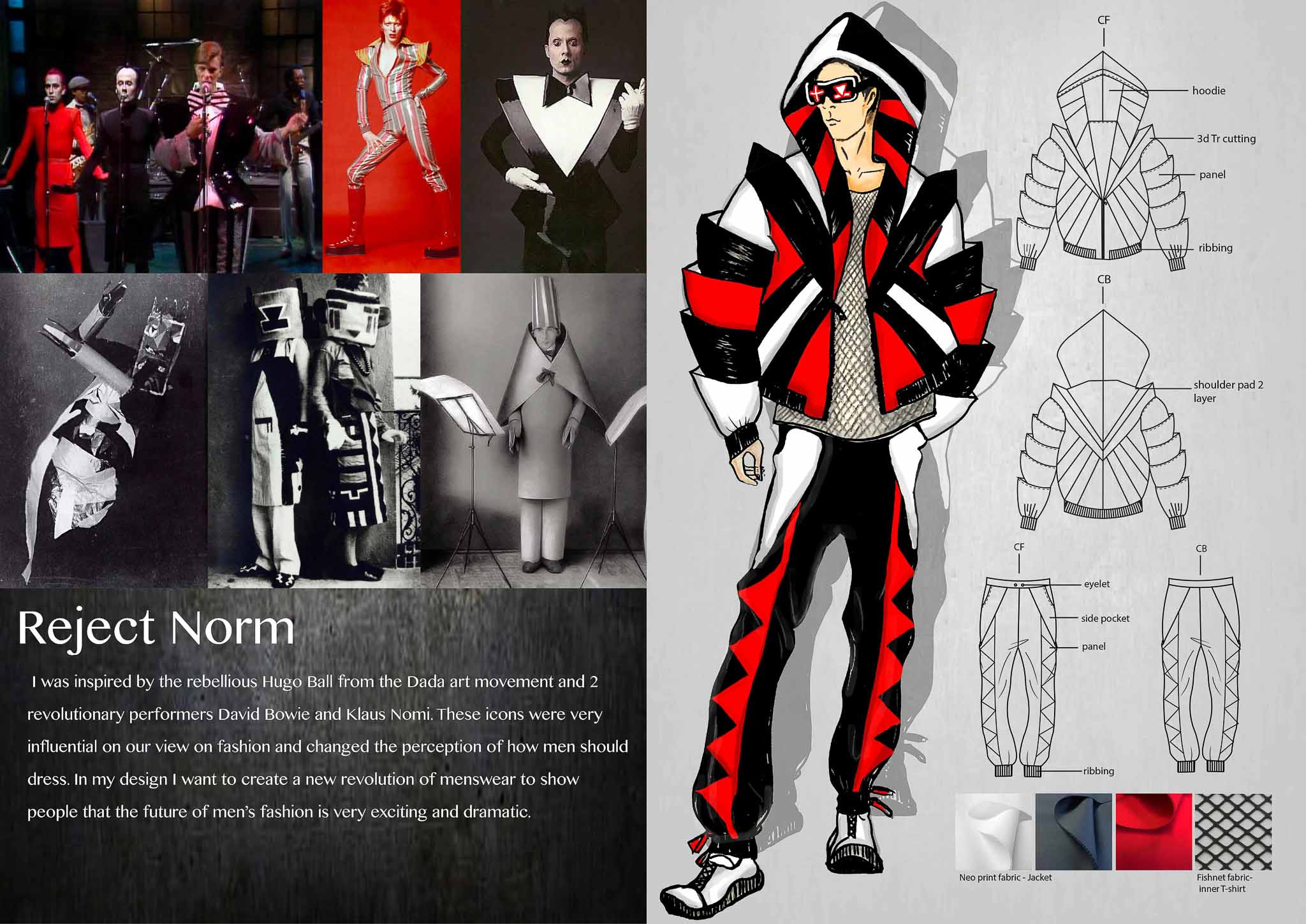 Reject Norm: Yifei Wang, China, Student, Raffles Design Institute Singapore (Create your Revolution)