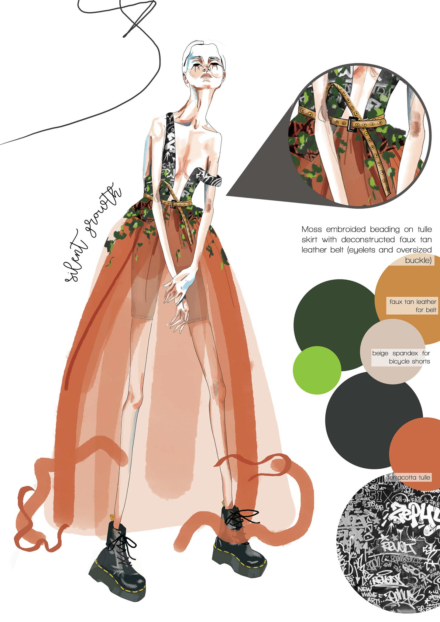 Silent Growth: Sarah Lane, South Africa, Student, Design Academy of Fashion (Create your Revolution)