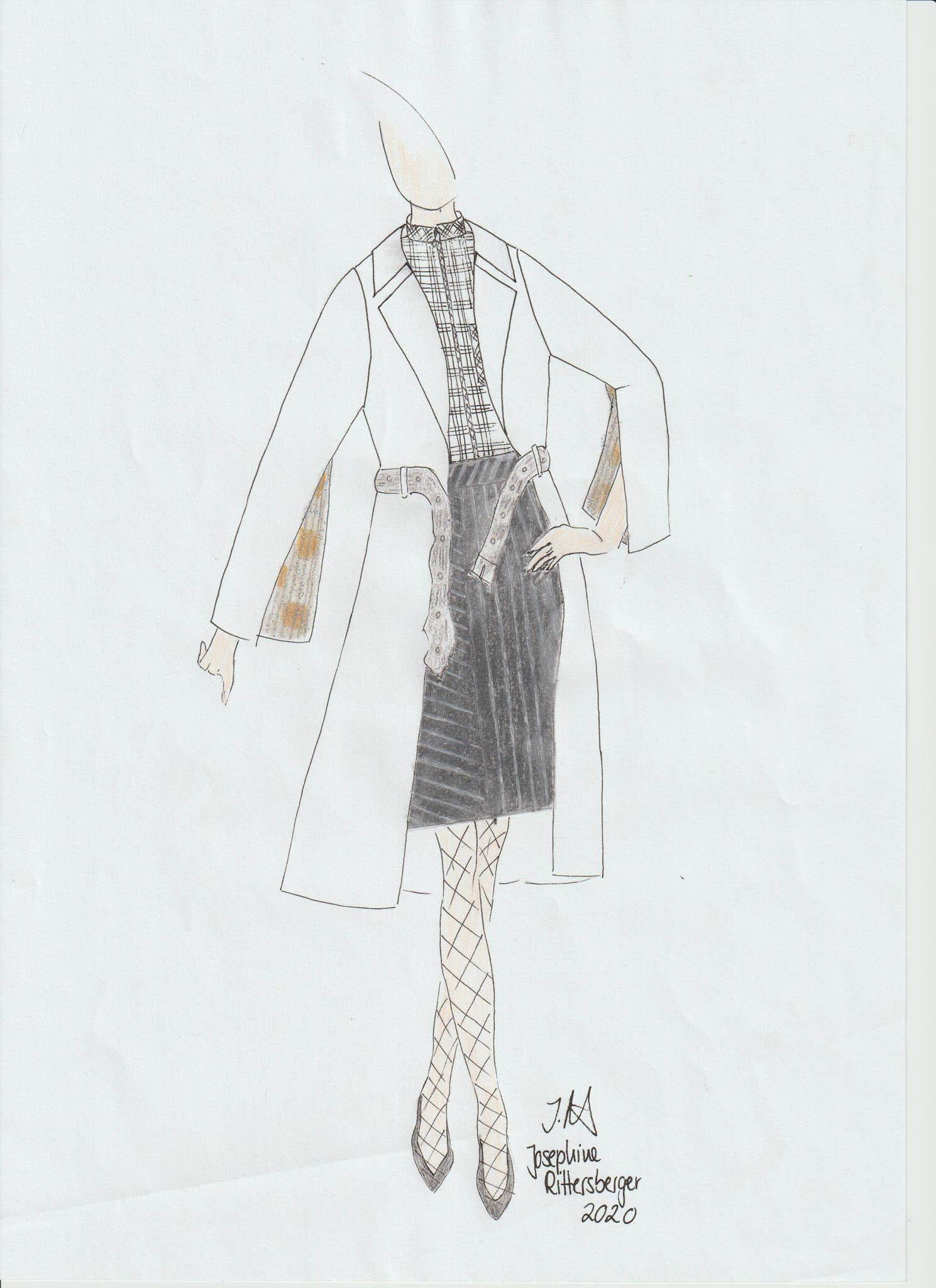 No Title: Josephine Rittersberger, Germany, Student, Modeinstitut Gabriel (Cradle to Cradle)