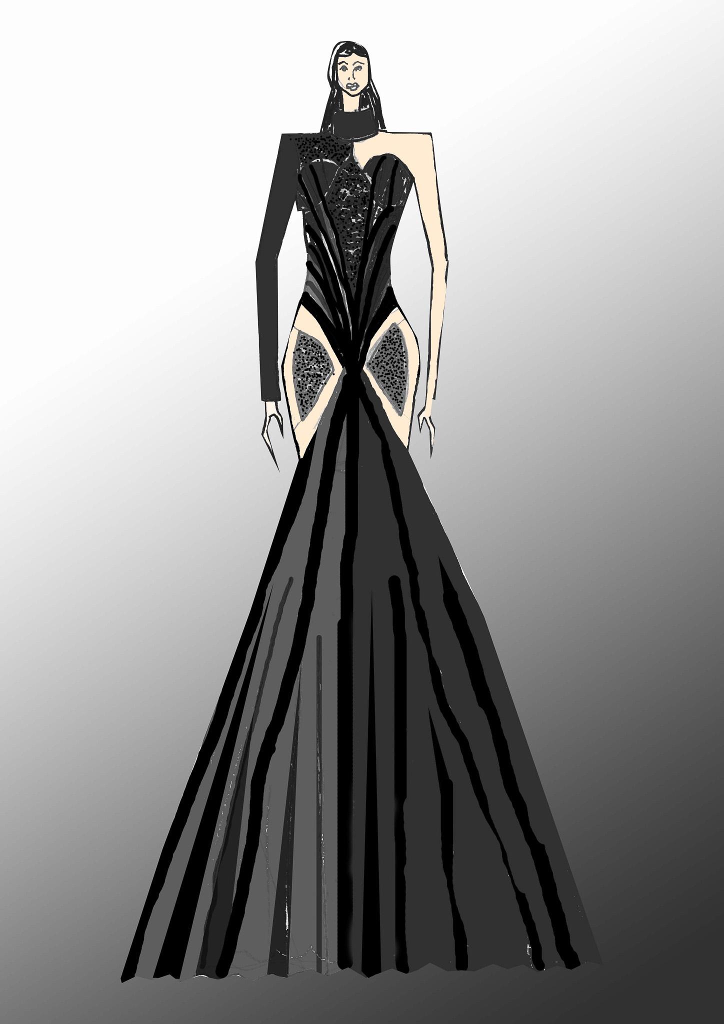I saw the Dark: Thomas le Roux, South Africa, Alumni, Design Academy of Fashion (Dream your Dreams)