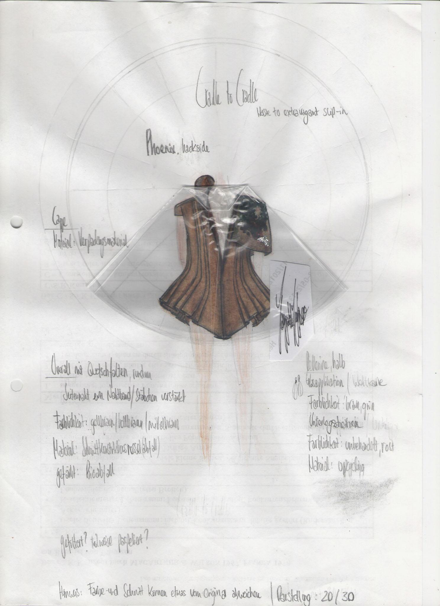 Phoenix: Hannah Alma Sundhauser, Germany, Student, Modeinstitut Gabriel (Cradle to Cradle)