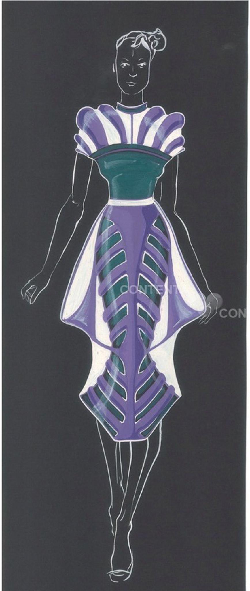 The Future Style: Oksana Baranovska, Ukraine, Newcomer, Salvador Dali Academy of Modern Art (Dream your Dreams)
