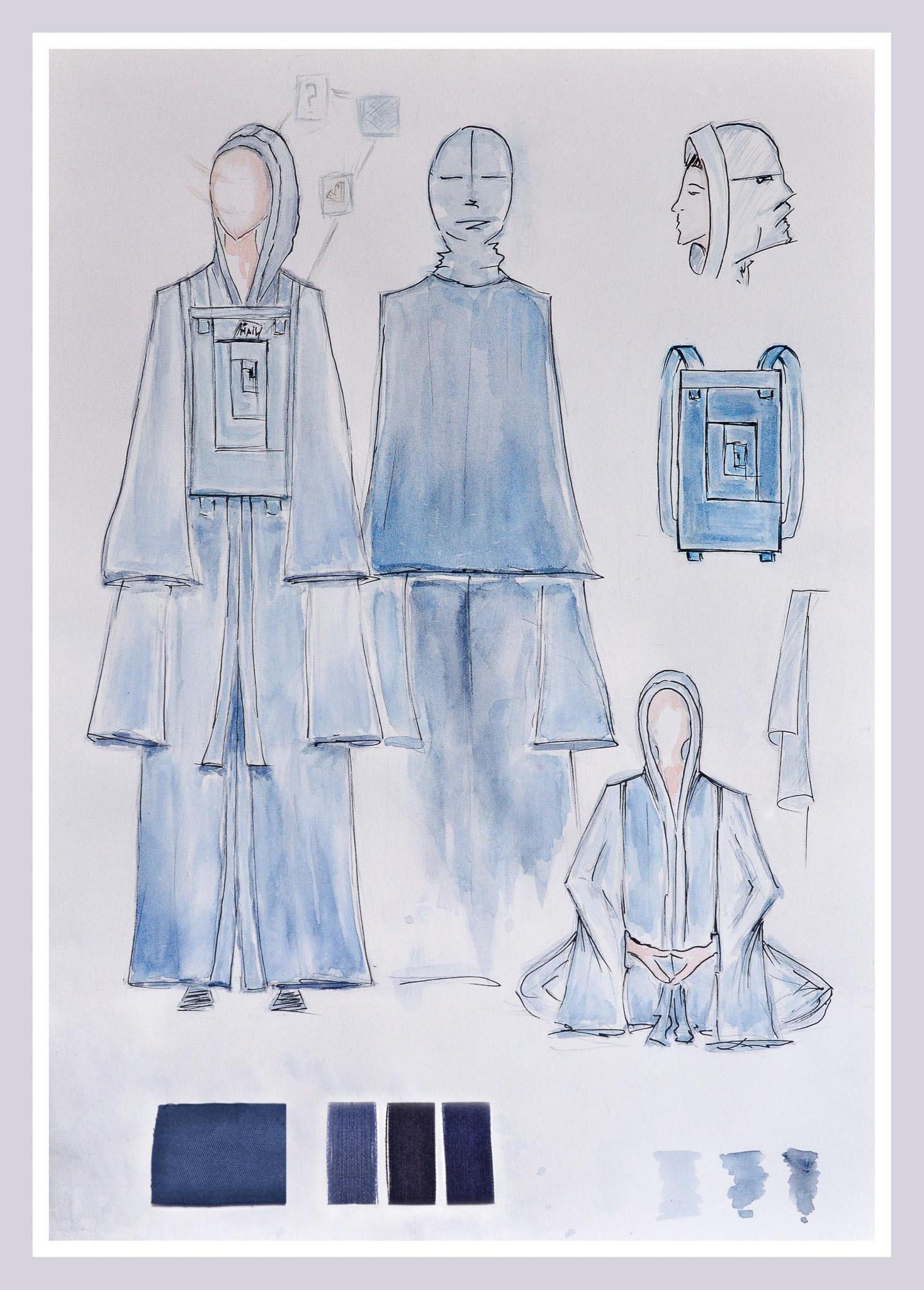 4D: DREAM DREAMS DIVING DEEPER: Olena Shutovska, Ukraine, Alumni, Academy Style & Design by André Tan (Dream your Dreams)