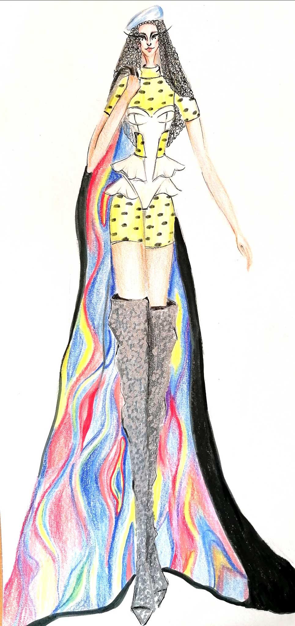 Xenophilia: Chiara Herzog, Germany, Student, Modefachschule Sigmaringen (Create your Revolution)