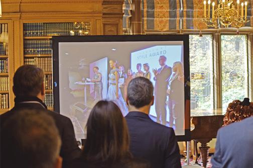 Die Gäste sind begeistert von dem Imagefilm 2015.