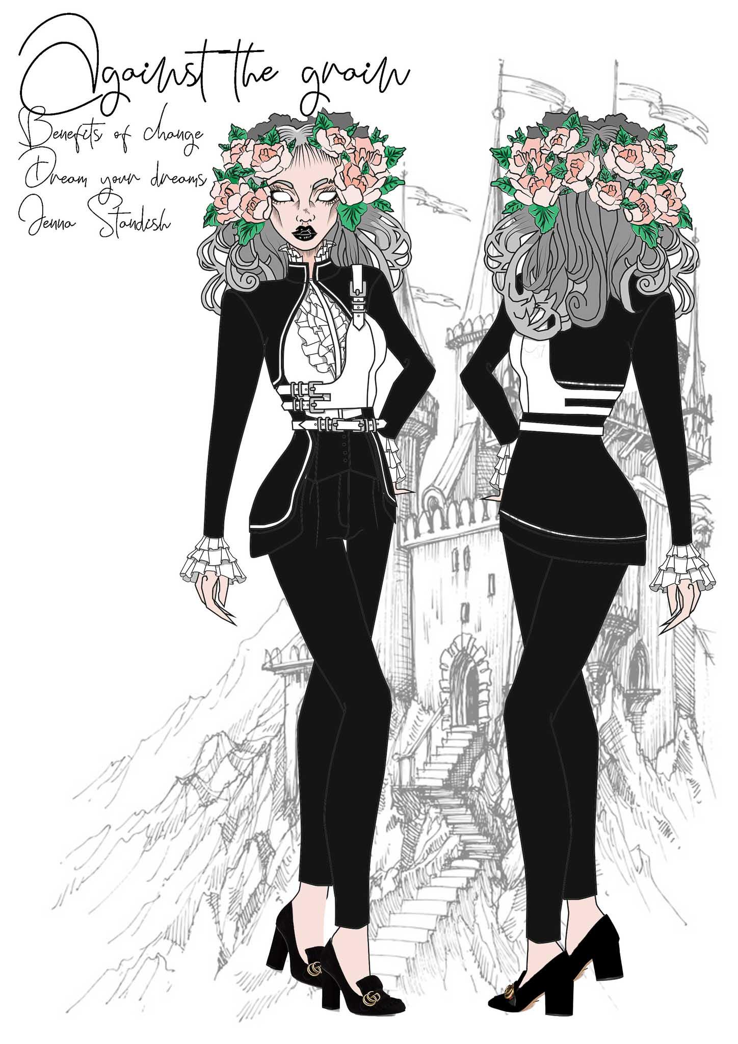 Against the Grain: Jenna Standish, Südafrika, Student, Elizabeth Galloway Academy of Fashion Design (Dream your Dreams)