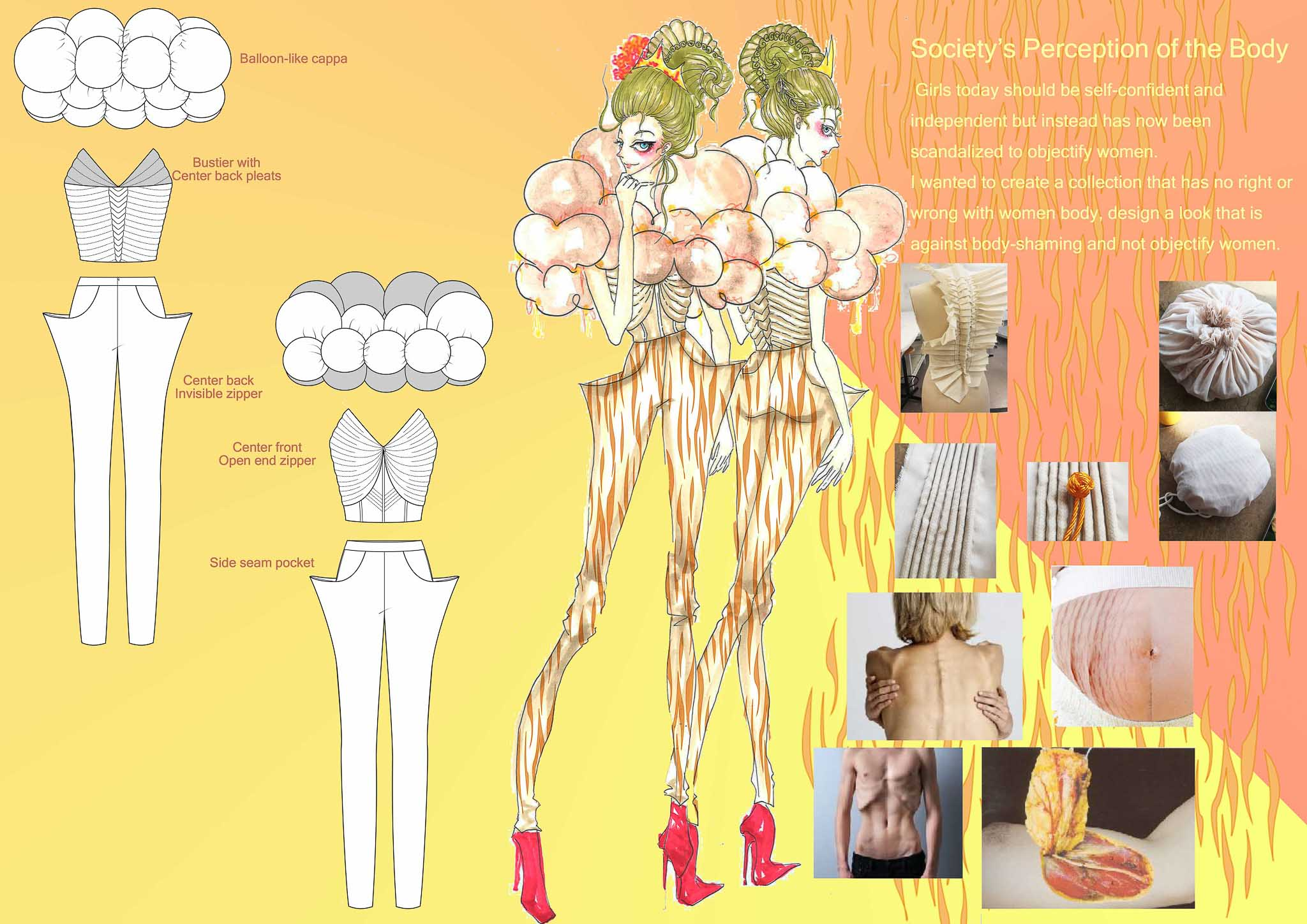 Body Perception: Xueer Zhao, China, Student, Raffles Design Institute Singapore