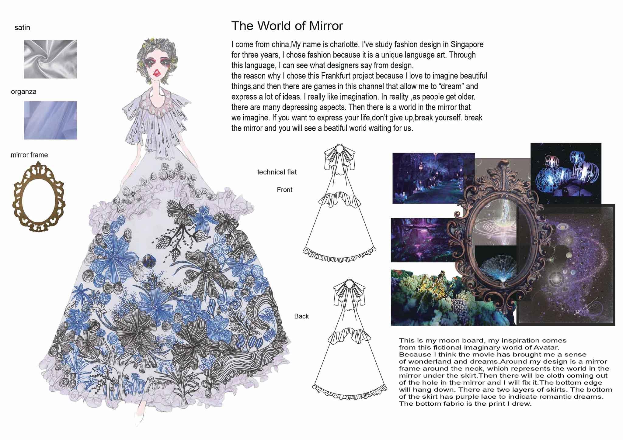 The World of Mirror: Lu Junxin, China, Student, Raffles Design Institute Singapore