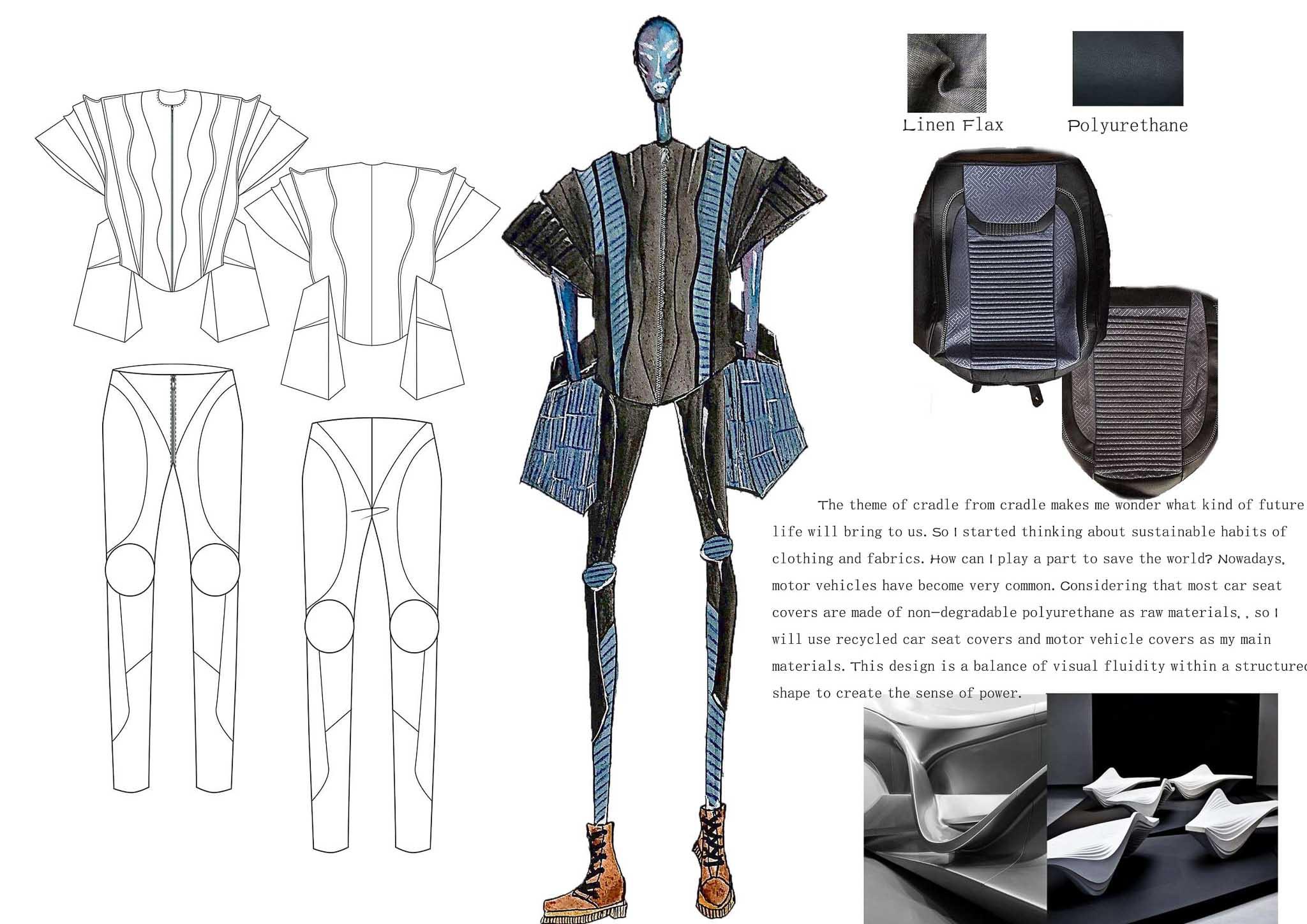 Power of Lines: Yanzhen Li, China, Student, Raffles Design Institute Singapore