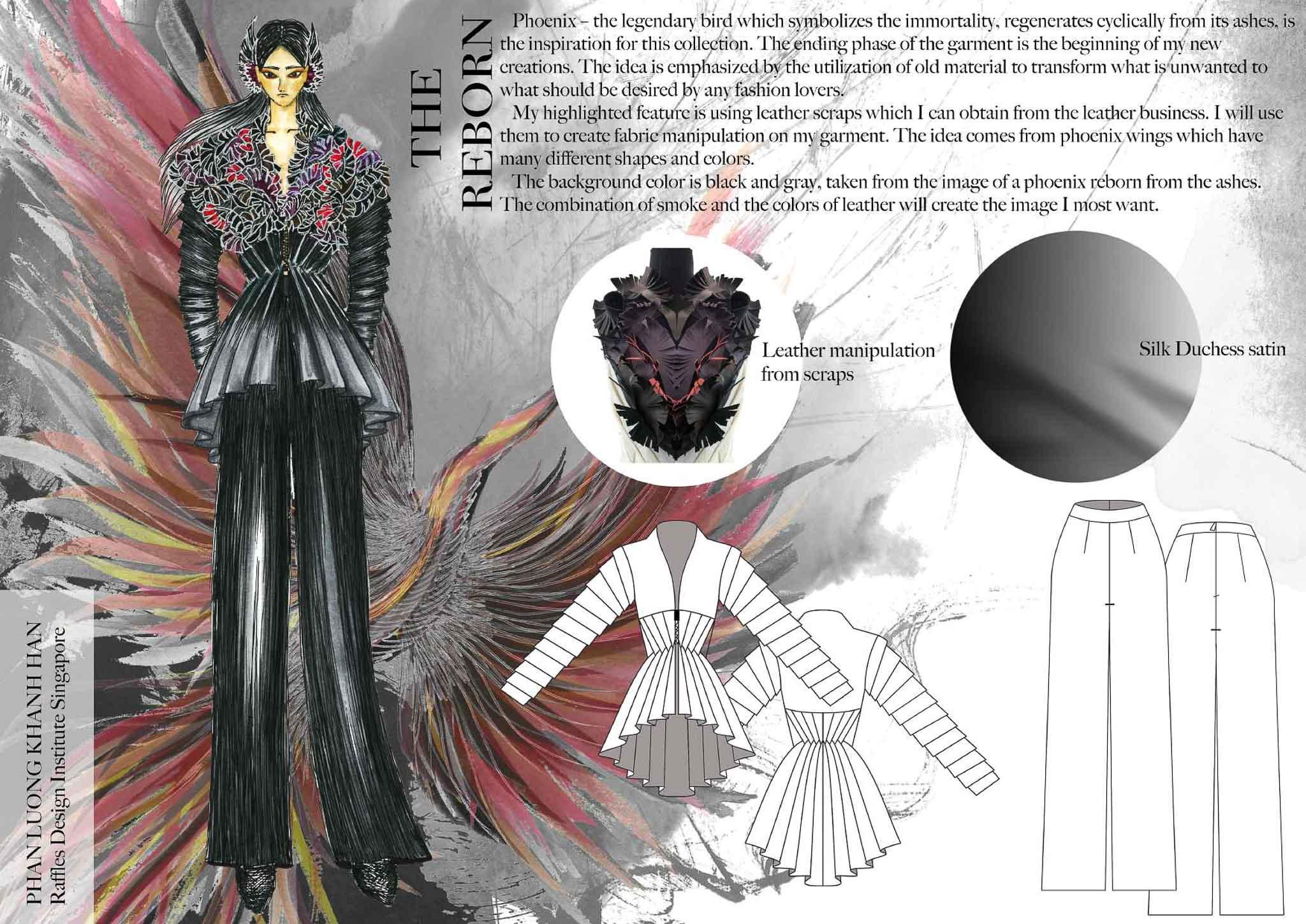 The Reborn: Phan Luong Khanh Han, Vietnam, Student, Raffles Design Institute Singapore