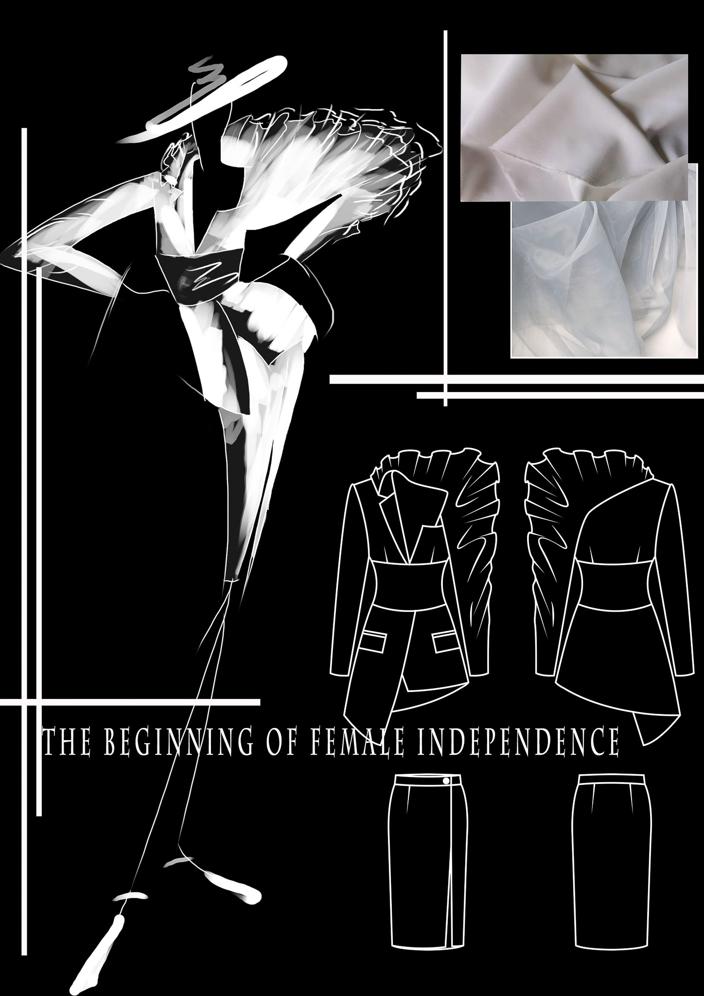 The Beginning of Female Independence: Fan Xintian, China, Student, Raffles College ofHigher Education