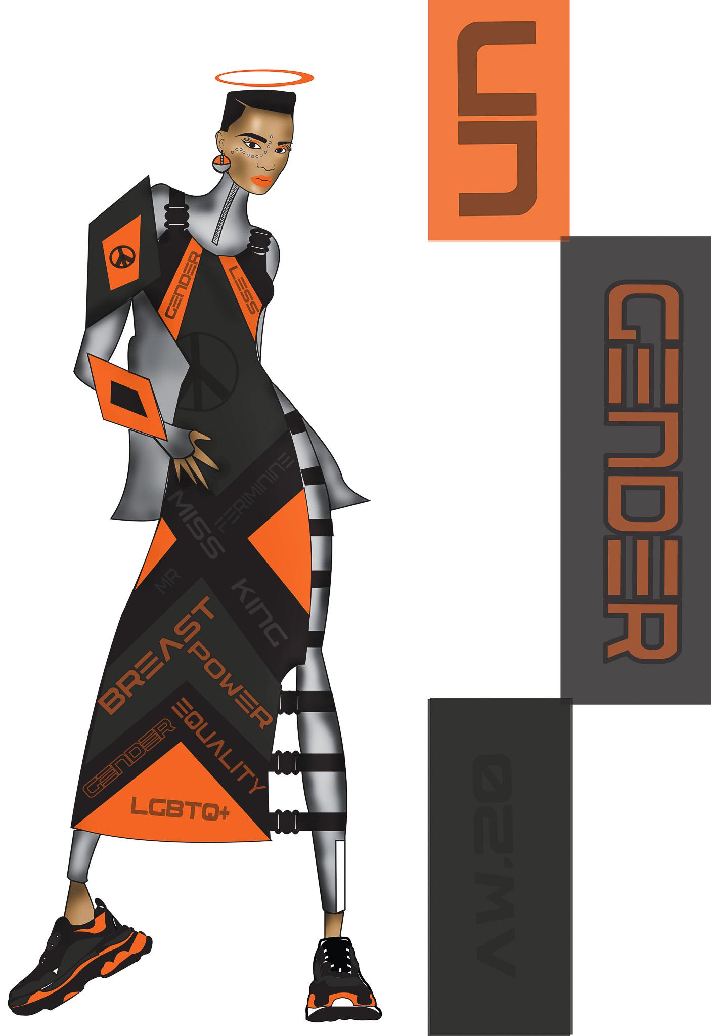 UNGENDER: Duma Soko, Südafrika, Newcomer, Design Academy of Fashion