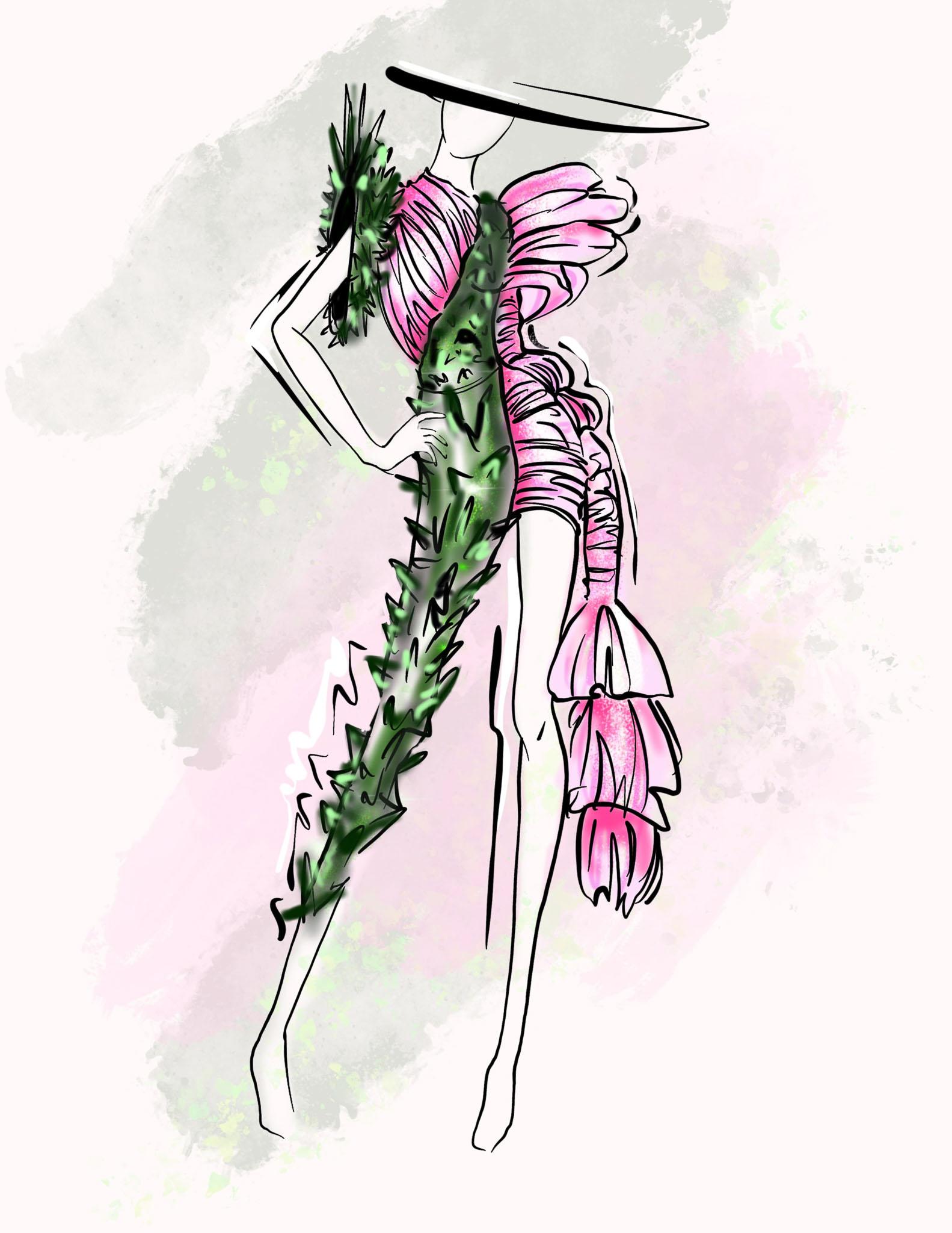 Cactus: Sophya Kravtsova, Ukraine, Newcomer, Tailors School (Create your Revolution)