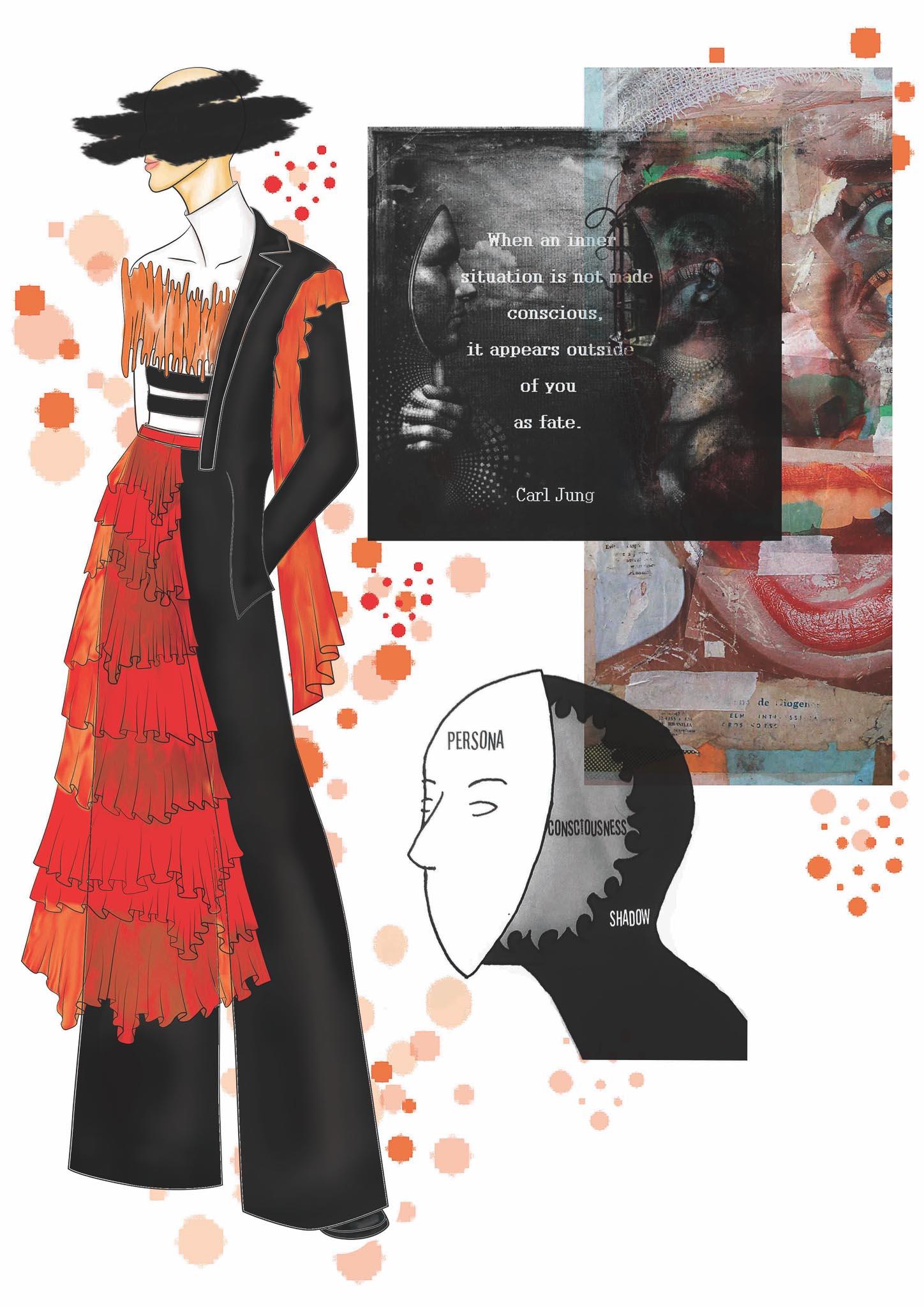 No title: Keshia Smith, Swaziland, Newcomer, Design Academy of Fashion (Dream your Dreams)