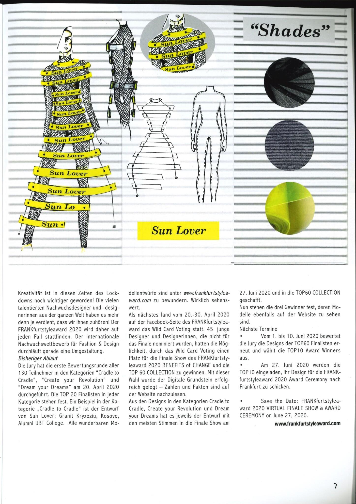 FASHION GUIDE Magazin vom 10. August 2020